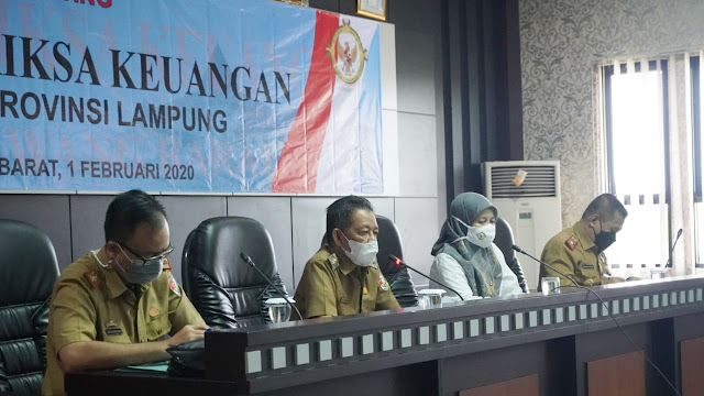 Wabup Tuba Barat Menghadiri Acara Entry Metting BPK Perwakilan Lampung