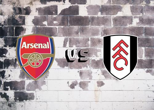 Arsenal vs Fulham  Resumen y Partido Completo