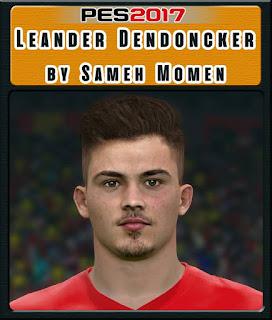 PES 2017 Faces Leander Dendoncker by Sameh Momen