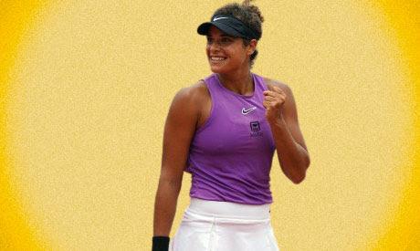 Egyptian tennis player Mayar Sherif