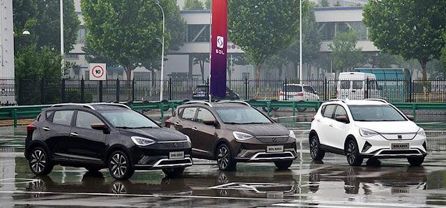 SOL E20X, o JAC T40 da VW começa a ser produzido - China