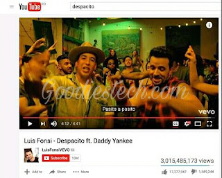 'Despacito' Becomes First Youtube Video With 3 Billion Views