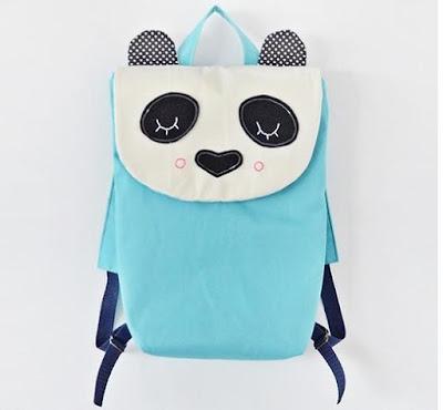 Plecak panda handmade