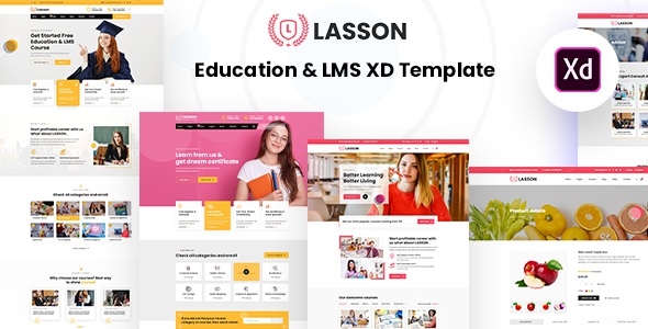 Best Education and LMS XD Template