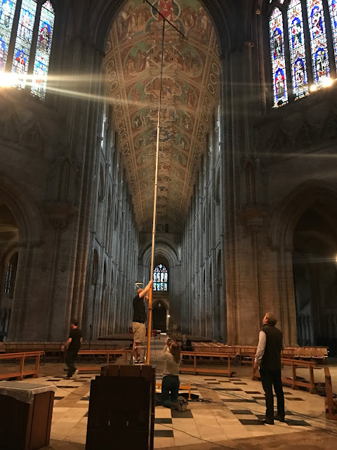 Recording The Wonders of the Cosmos in Ely Cathedral