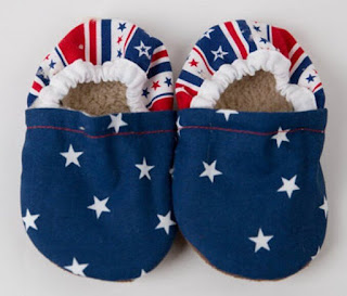 Make Your Own Handmade Newborn Baby Shoes from Flannel and Cotton Cloths