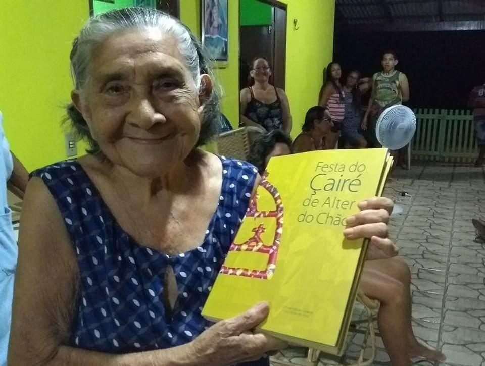 A idosa Luzia Lobato, 1º caso de coronavírus no Pará