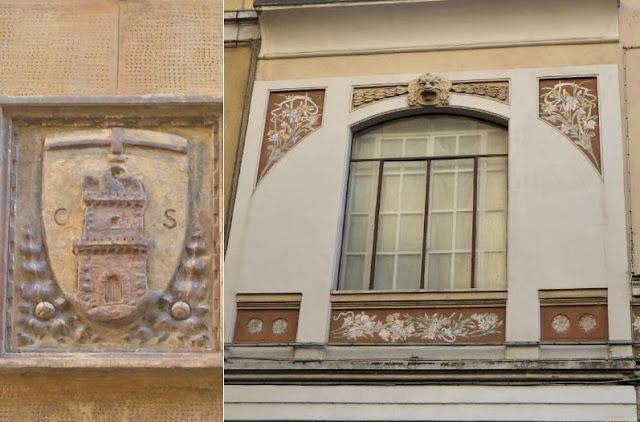 Stemma città Spezia e teatro Trianon