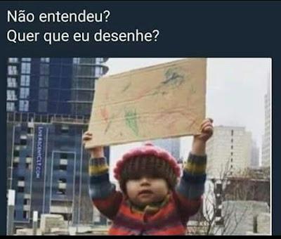 memes, melhores memes da net, melhor site de memes, site de memes, memes brasil, humor, engraçado, memes engraçados, no entendeu que que eu desenhe