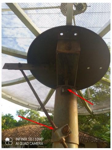 Cara Tracking Parabola C-Band K-Vision Gardiner G-88 HD Ottimo