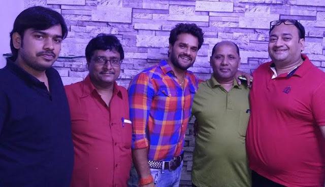 निर्माता प्रेम राय की तीन भोजपुरी फिल्मो का मुहूर्त एक साथ | Producer Roy's three Bhojpuri films Muhurat together