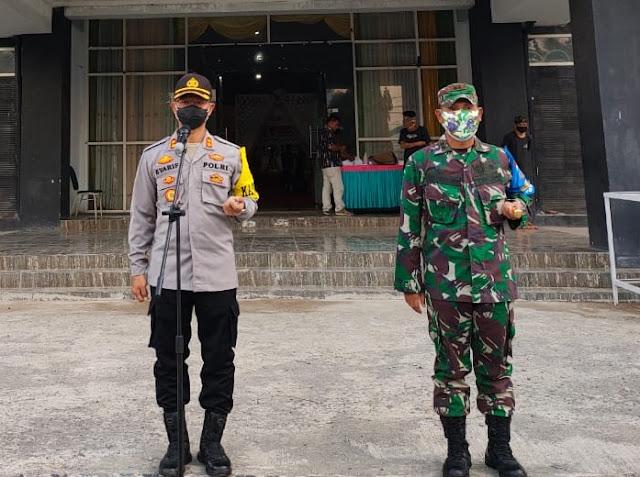 Kapolres Dompu jamin keamanan dan ketertiban Prokes di Debat Publik