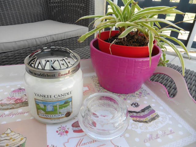 Bougie Yankee Candle Clean Cotton
