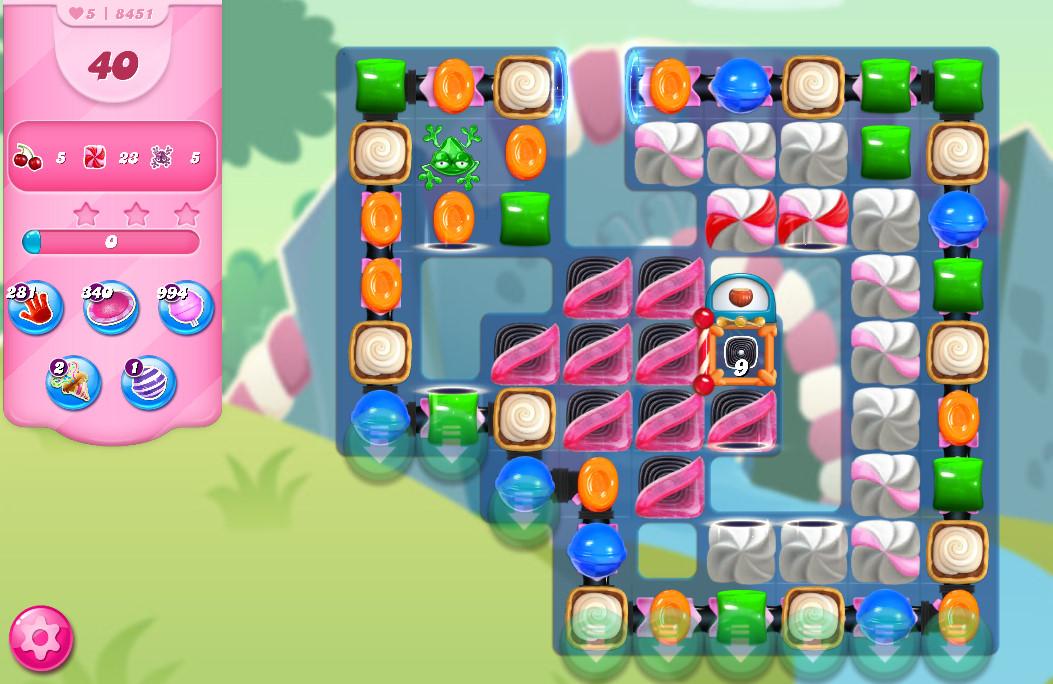 Candy Crush Saga level 8451