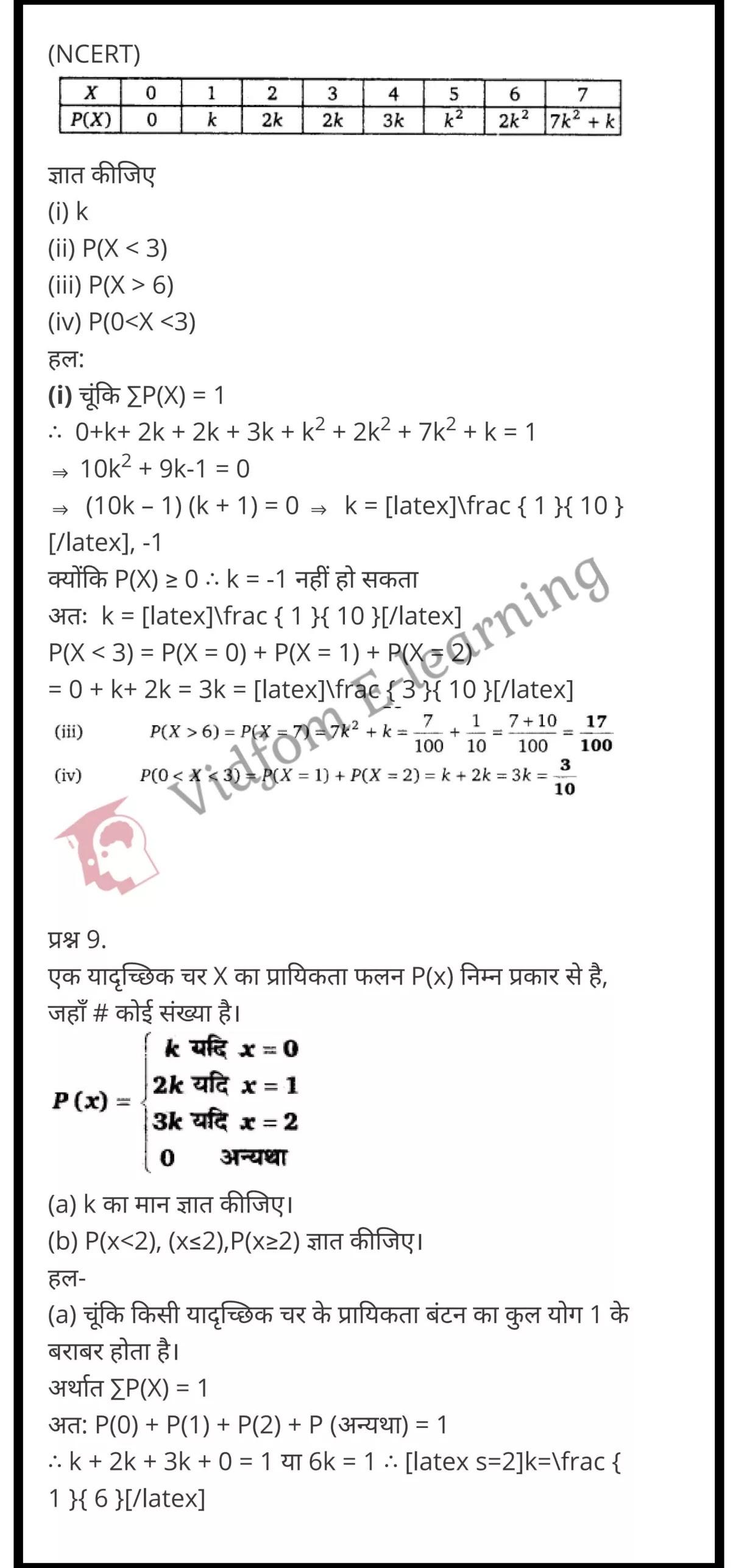 class 12 maths chapter 13 light hindi medium 32