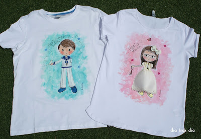 camiseta primera comunión