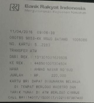 transaksi pembayaran 2