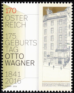 Austria 2016 - 175th Birth of Otto Wagner Architec