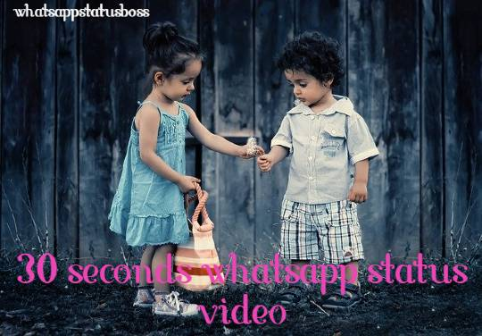 [ latest ] 30 seconds Whatsapp status video download