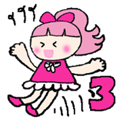 Pink favorite cute girl3