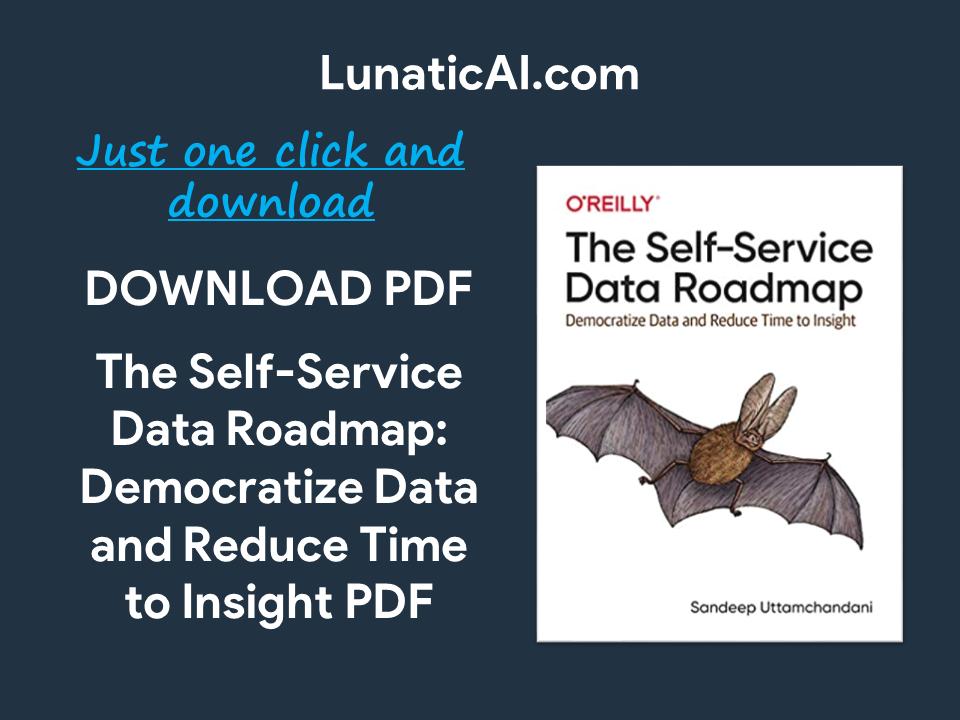 The Self-Service Data Roadmap PDF
