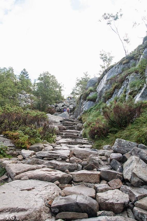 Subida al Pulpito en Noruega Stavanger