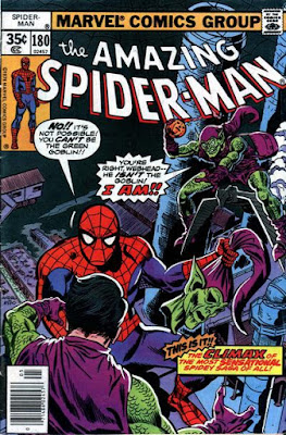 Amazing Spider-Man #180, the Green Goblins