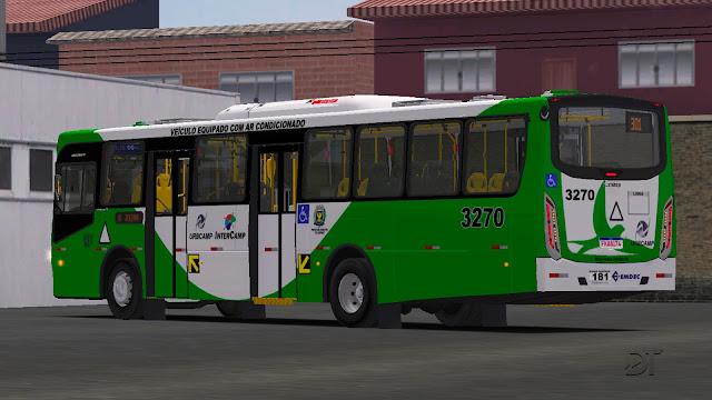 OMSI 2 - Caio Apache VIP IV MB OF-1721, OF-1724 e VW 17.230 OD padrão EMTU