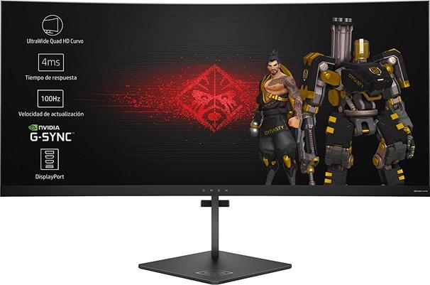 ▷[Análisis] HP OMEN X 35, un monitor curvo Quad HD perfecto para jugadores exigentes