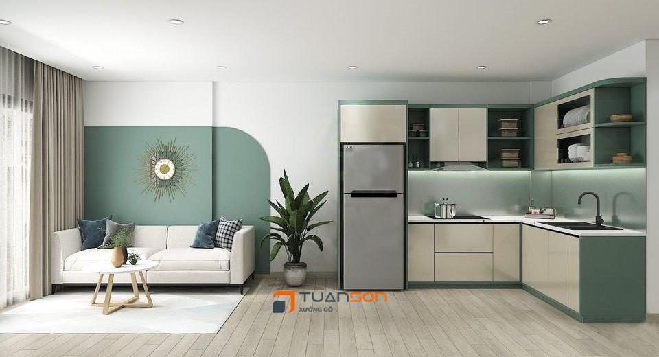 Thiết kế căn hộ 2PN+2WC (62m2) Vinhomes Smart City Tây MỗThiết kế căn hộ 2PN+2WC (62m2) Vinhomes Smart City Tây Mỗ