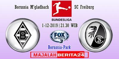 Prediksi Borussia M'gladbach vs Freiburg — 1 Desember 2019