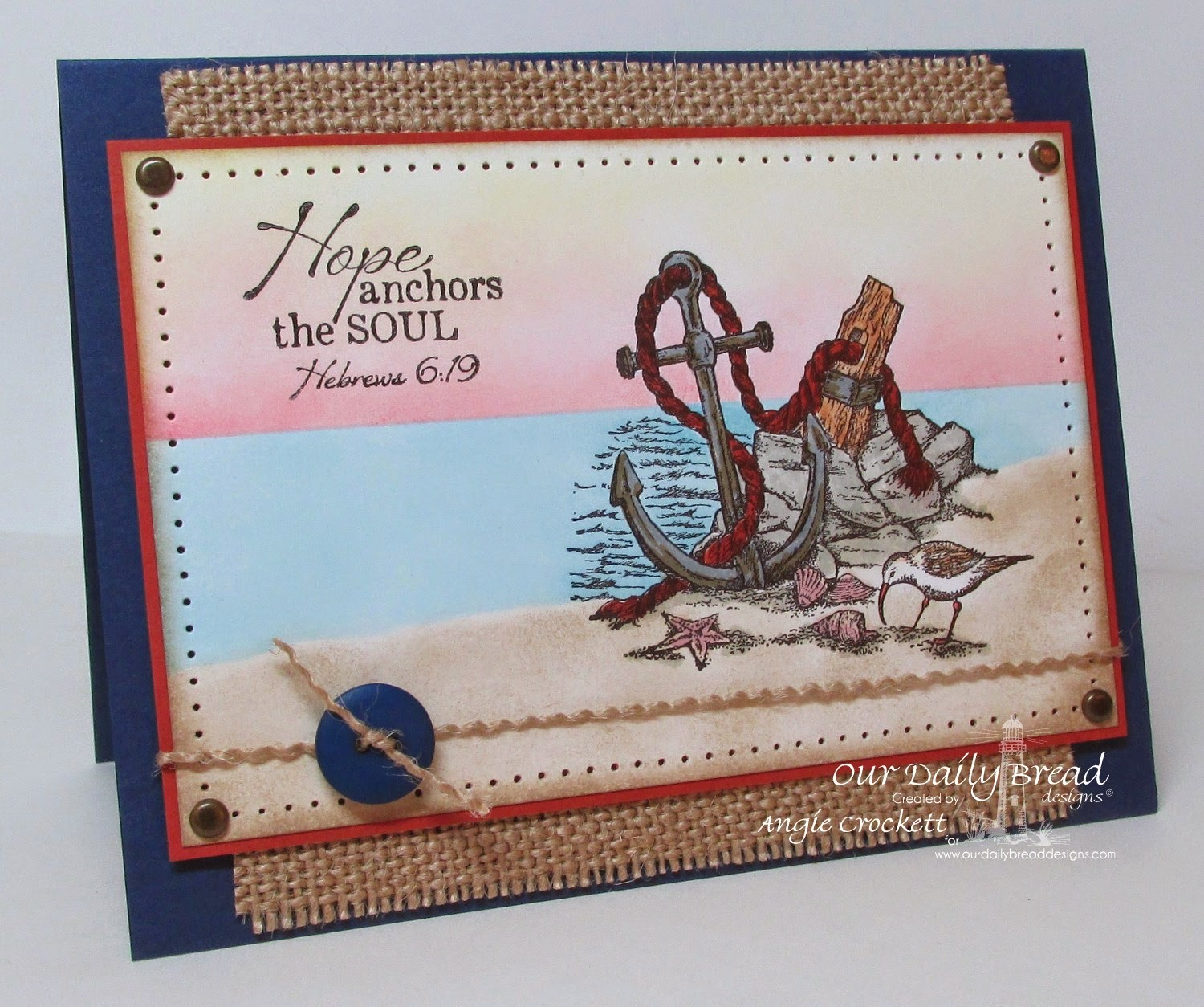 ODBD Anchor for the Soul, Card Designer Angie Crockett