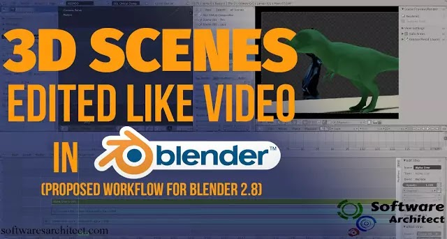 Blender Video Editor Free Download computer Window