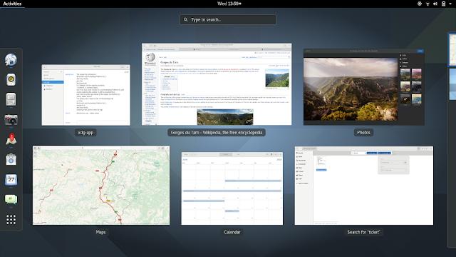 Lançada segunda atualização de manutenção do GNOME 3.22