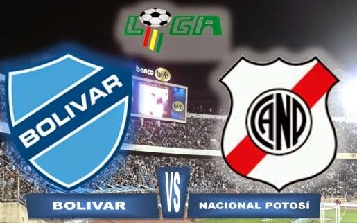 Nacional Potosí vs Bolívar EN VIVO ONLINE por la fecha 17 del Fútbol Boliviano.