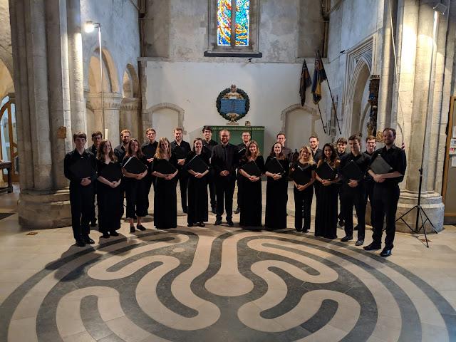 Joseph Wicks and the Beaufort Singers at Boxgrove Priory Church