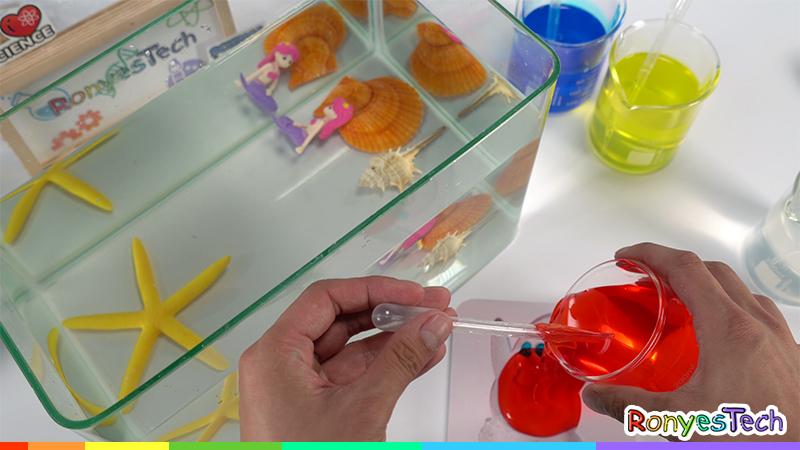 Instant Alginate Worm Experiment Instruction Step4