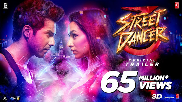 Street Dancer 3D Full Movie Download In HD Leaked By TamilRockers