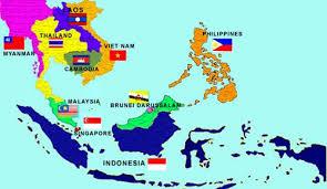 Letak Geografis ASEAN Beserta Posisi dan Batas Wilayah Asia Tenggara