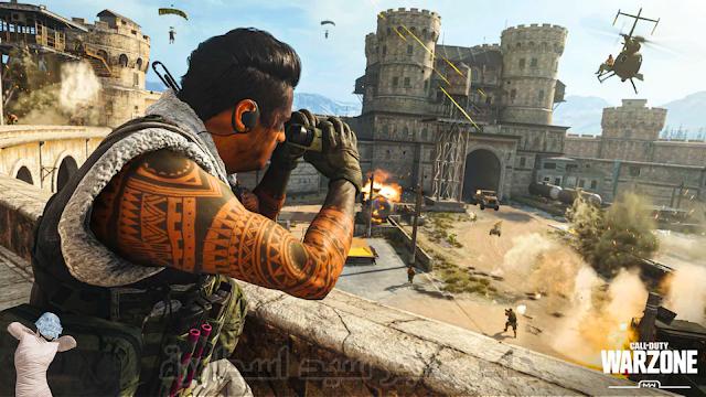 تسريبات كال اوف ديوتي وار زون موبايل Call of Duty  Warzone Mobile كود وار زون موبايل