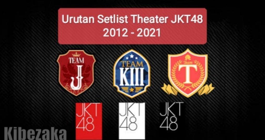 setlist theater jkt48 urutan lengkap logo