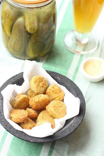 cornichons lacto-fermentés frits