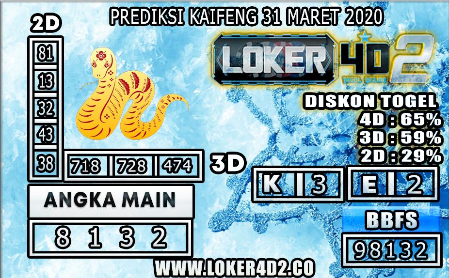 PREDIKSI TOGEL KAIFENG LOKER4D2 31 MARET 2020