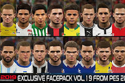 Exclusive Facepack Vol. 20 - PES 2019
