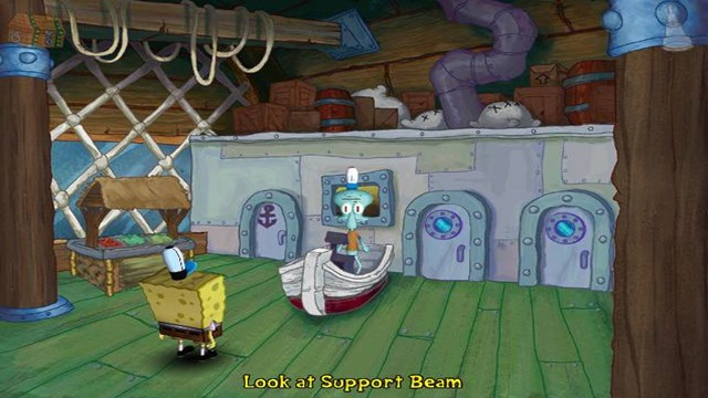Download SpongeBob SquarePants Employee of the Month PC Gameplay