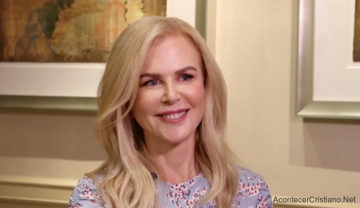Nicole Kidman habla de su fe cristiana