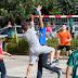 Πλήθος παιδιών στο Street Handball του Διομήδη (φωτό)