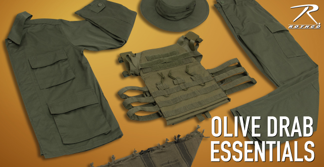Olive Drab IS the New Black