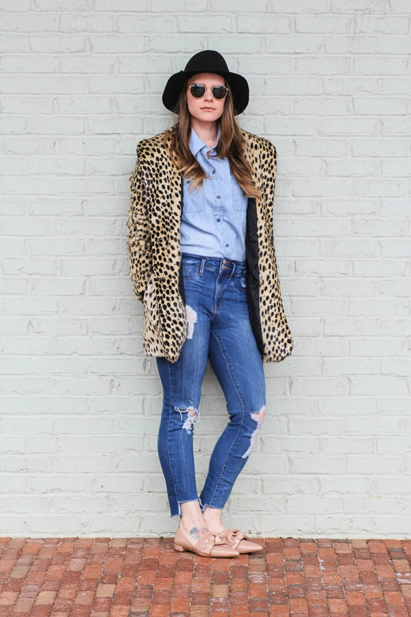 Leopard Coat Outfits