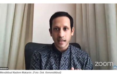 Mendikbud Nadiem Makarim: Dana Bos Bisa Dipakai untuk Bayar Gaji Honorer